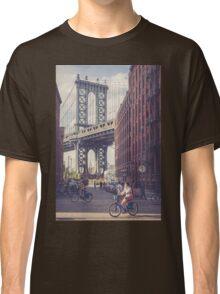 Bike Ride in Dumbo Classic T-Shirt