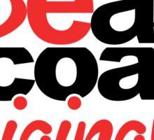 'Be'ast Coast 'Original'ity - Light Shirts Sticker