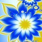 Floral Tropical Breeze  by Beatriz  Cruz