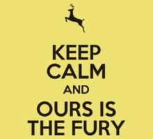 Keep Calm and Ours is the Fury by Aja Carey