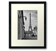 Champs de Mars Framed Print
