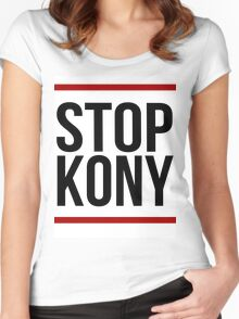 "Kony T-Shirt - ""Stop Kony"" Women's Fitted Scoop T-Shirt"