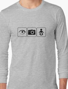 I Photograph Babies Long Sleeve T-Shirt