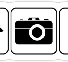 I Photograph Babies Sticker