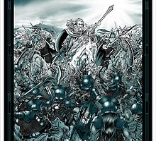 Lord of the Rings Battle of the Hornburg by SinisterSix