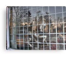 Looking through the old window Metal Print