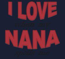 I Love When My Nana Spoils Me One Piece - Long Sleeve