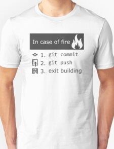 Git on fire T-Shirt