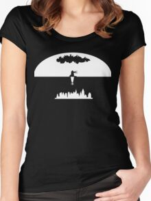 Bioshock Two Cities Women's Fitted Scoop T-Shirt