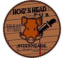 Hog's Head Pub, by Aberfort Photographic Print