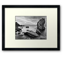 The Timeless Shore Framed Print