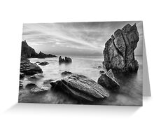 The Timeless Shore Greeting Card