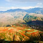 The Red Earth of Luoxiagou by barnabychambers