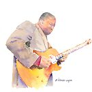 Guitarist by arline wagner