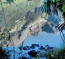 Mirror Lakes #2, New Zealand by Carole-Anne