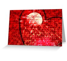 Happy Anniversary, I love you - Greeting Card Greeting Card