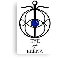 EYE of ELENA Canvas Print