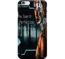 The Search for Perfection Begins... iPhone Case/Skin