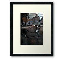 Blacksmith Smithing Framed Print