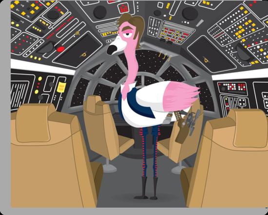 Flamingo Han by TheBensanity
