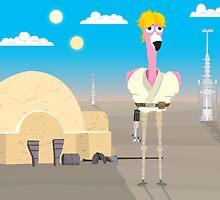 Flamingo Luke by TheBensanity