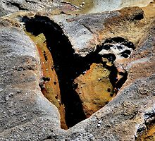 Don't you sometimes wish your heart was made of stone? by Robyn Forbes