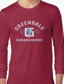 Greendale Human Beings T-Shirt Long Sleeve T-Shirt