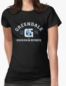 Greendale Human Beings T-Shirt Womens Fitted T-Shirt