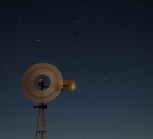 Night Windmill by sedge808