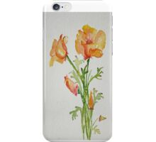 Bunch of California Poppies iPhone Case/Skin