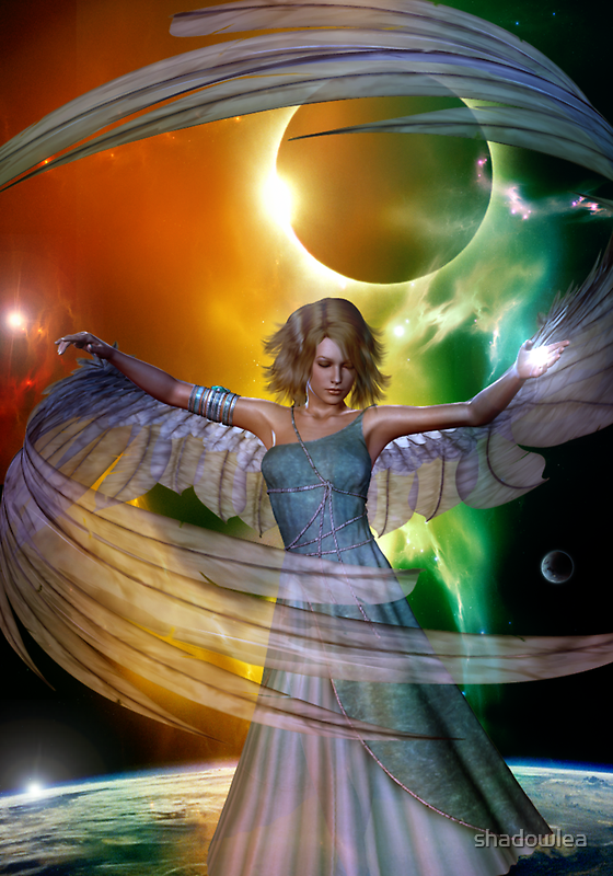 angel with no name by shadowlea