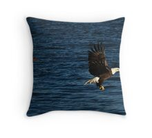 Holy Flying Fish  Throw Pillow