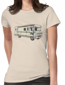 Meth RV Lab Womens Fitted T-Shirt