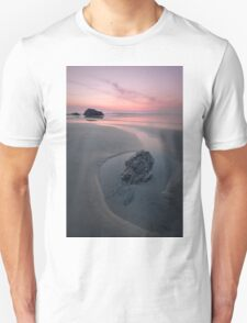 A Soothing Bedruthan Steps, Cornwall Sunset Unisex T-Shirt