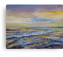 Shores of Heaven Canvas Print