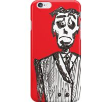 Sad Man (iPhone Case b) iPhone Case/Skin