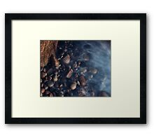 The Twilight at Porth Nanven Framed Print