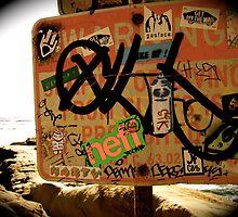 Seaside Graffiti  by lindsaygag