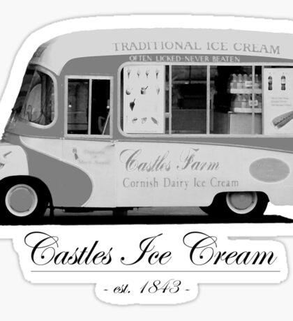 Castles Ice Cream est. 1843 Sticker