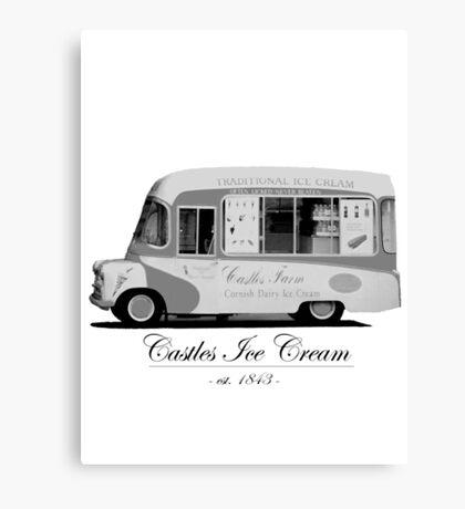 Castles Ice Cream est. 1843 Canvas Print