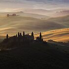 Magical morning in Tuscany by Matteo Colombo