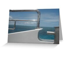 Blue Day on the Reef Greeting Card