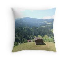 Austria From Above Throw Pillow