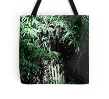 Lush Bamboo Forest Tote Bag