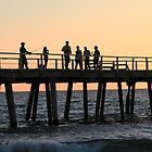 Henley Jetty At Sundown by Jenny Brice