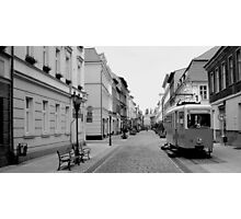 Poland Streets B/W Photographic Print