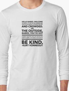 Vonnegut Quote T-Shirt