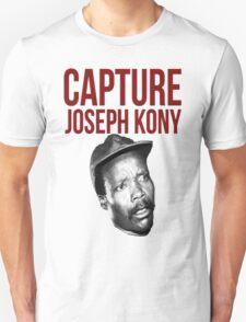 "Kony T-Shirt - ""Capture Kony"" Unisex T-Shirt"