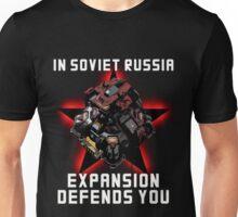 Planetary Fortress Unisex T-Shirt