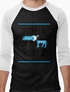 """""""Joseph Kony T-shirt"""" Original Style T-Shirt Kony 2012 Men's Baseball ¾ T-Shirt"""